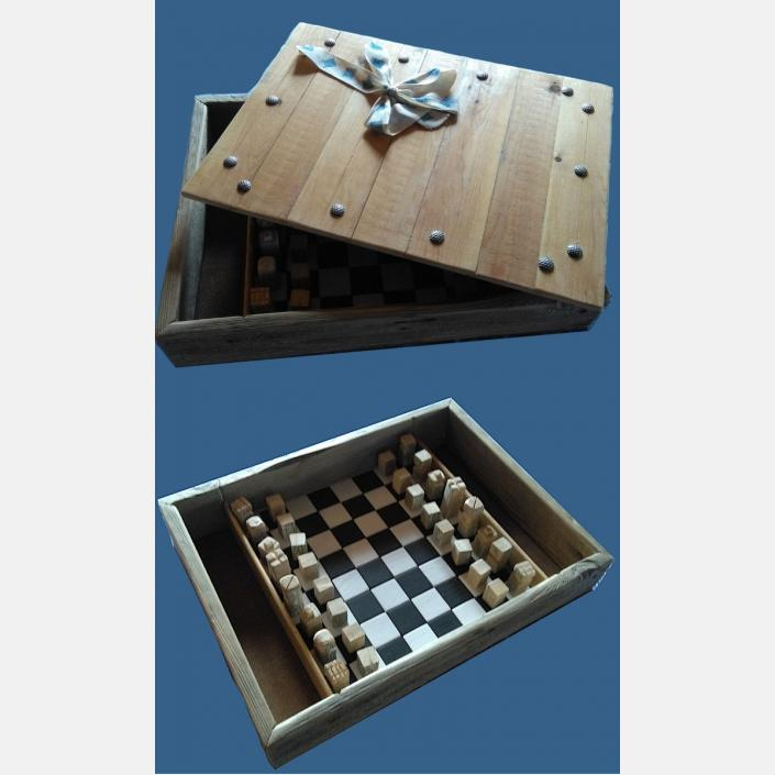 Sjakkboks-sjakkbrett