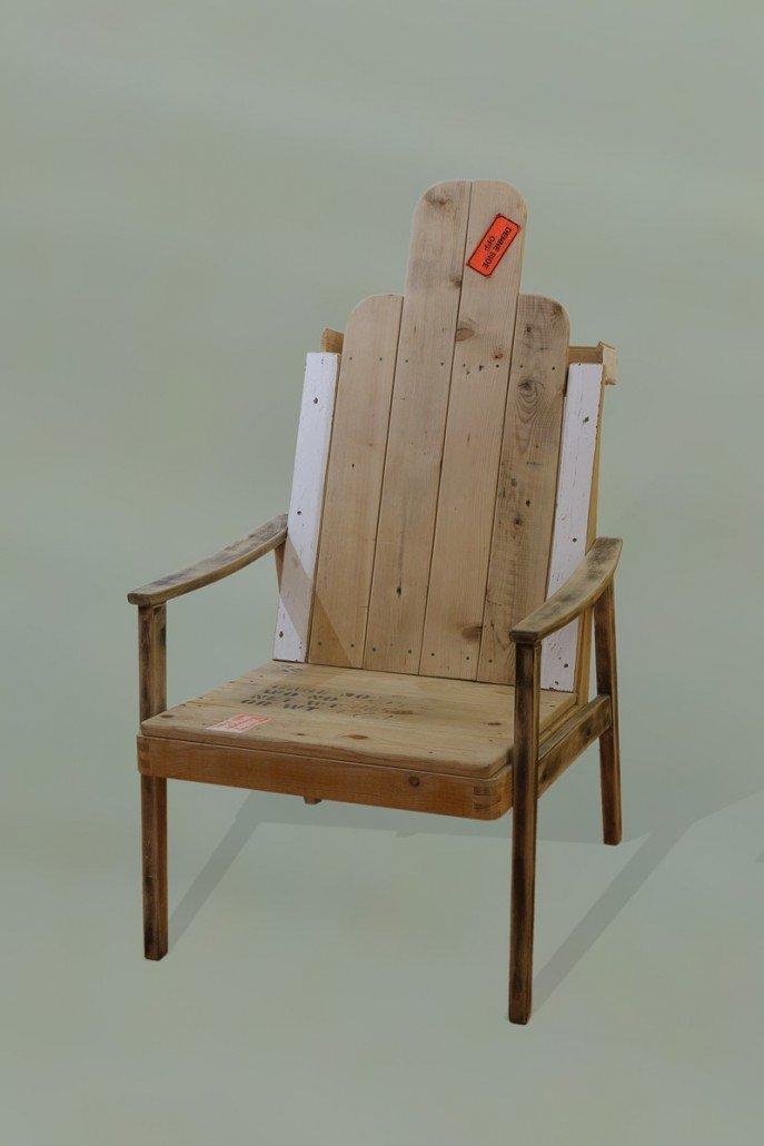 Naked armchair