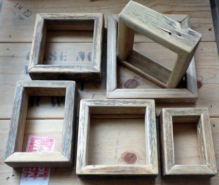 6 Frames on table