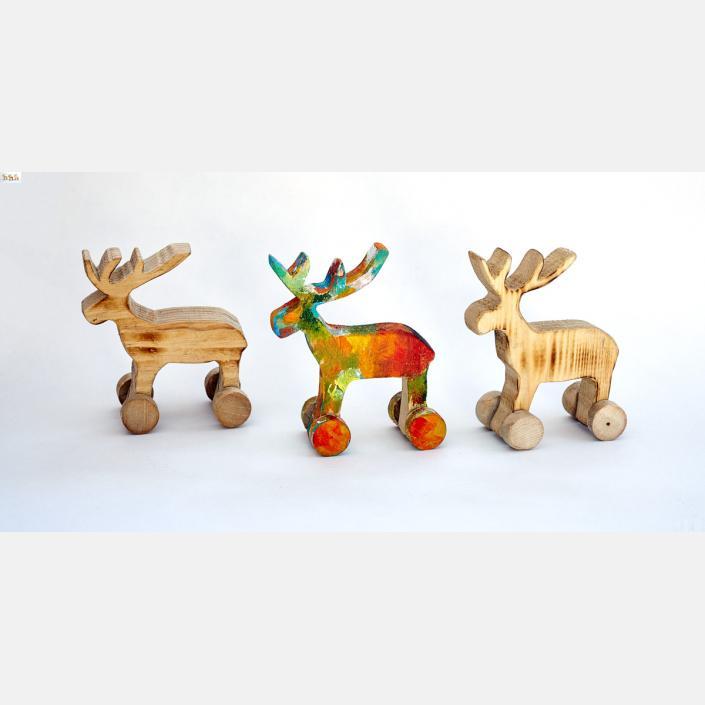 Pop-reindeers